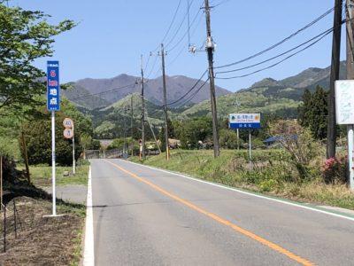 5kmすぎまでは見晴らしのよい直線道路が続く 榛名山ヒルクライム(ハルヒル)