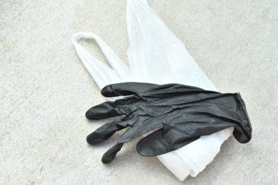 エマージェンシーとしてビニール袋やゴムグローブが役に立つ