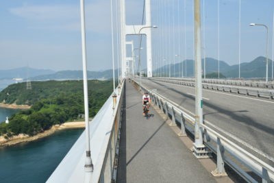 サイクリストの聖地と言えばしまなみ海道