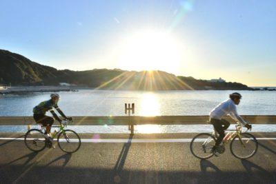 自転車2台分の車間でも十分効果あり