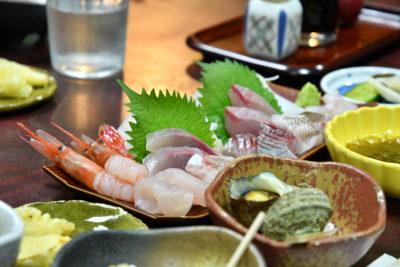 地魚など海の幸