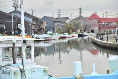 内川の港町