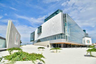2017年8月に移転してリニューアルした富山県美術館