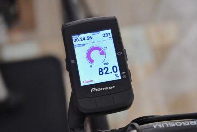 パイオニア新型GPSサイクルコンピューター「SGX-CA600」インテンシティが高まったらペダリングを少し休めてみよう