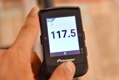 パイオニア新型GPSサイクルコンピューター「SGX-CA600」TSSを指標にすることで、疲れ具合を客観的に把握できるようになる