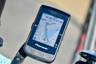 パイオニア新型GPSサイクルコンピューター「SGX-CA600」カラーディスプレイで視認性の高いナビゲーション画面