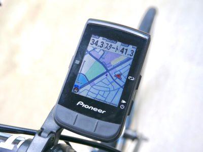 パイオニア新型GPSサイクルコンピューター「SGX-CA600」