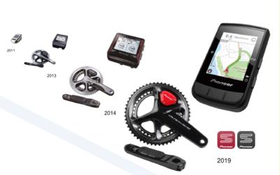 2011年の試作品発表以降、進化を遂げてきたペダリングモニター